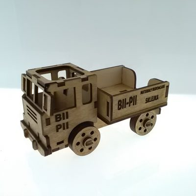 6.organizer ci¦Ö+-ar+-wka na biurko - truck organizer on the desk - d+é. 20 cm. bez graweru cena_ 20_00 z+é_