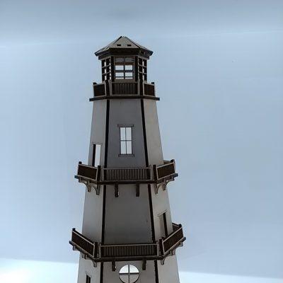 latarnia du+-a pe+éna wys. 55cm sklejka 6mm woskowana -mo+-e by¦ç pod o+Ťwietlenie LED _ cena_ 80_00 z+é _