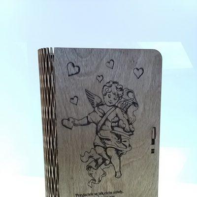 pudełko grawer aniołek