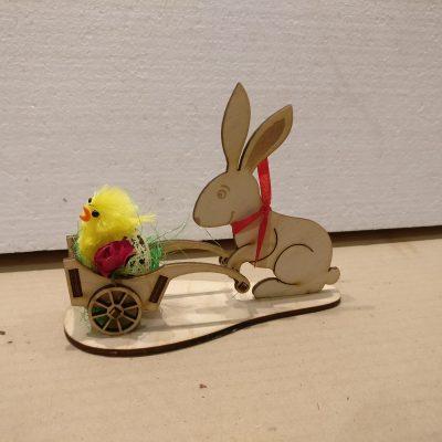 Kopia stroik mini kr+-lik z jajeczkiem i kurczaczkiem