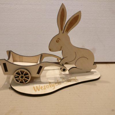 Kopia zajac duzy 30 cm